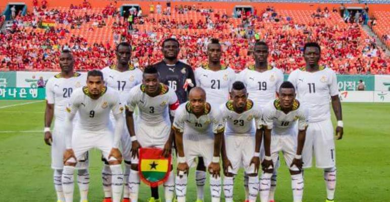 USA  pip Ghana in Group A clash