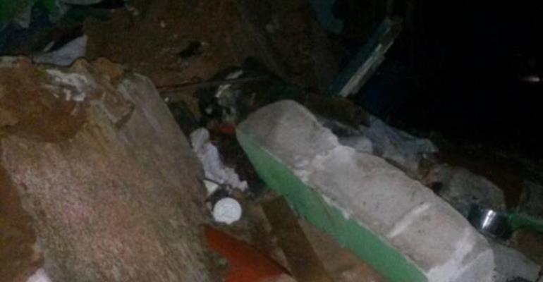 Kwadaso: 2 Children Killed  By Collapsed Building