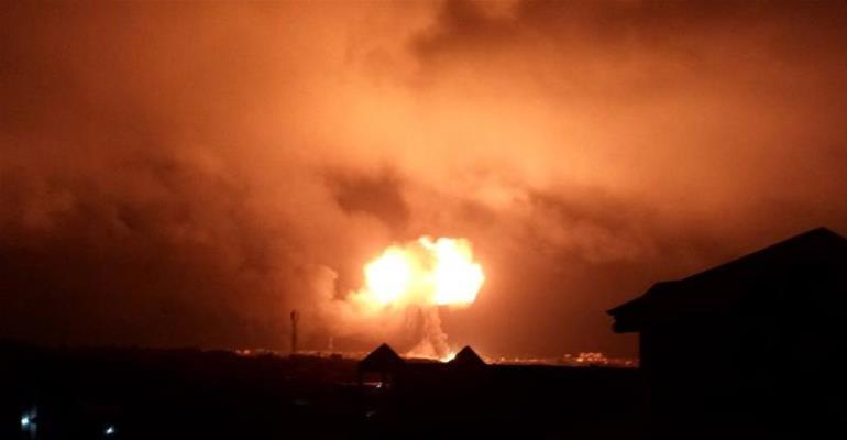 Gas Explosions in Ghana,