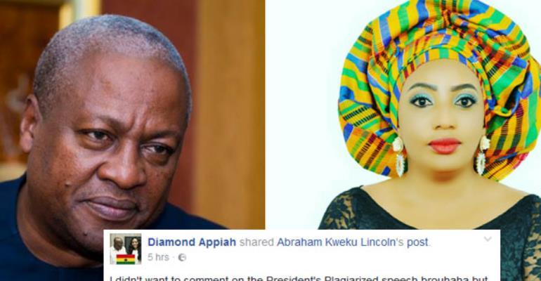 Diamond Appiah Angrily Blast Ghanaians Including Ex. President Mahama for Mocking Nana Addo over Plagiarized Speech.