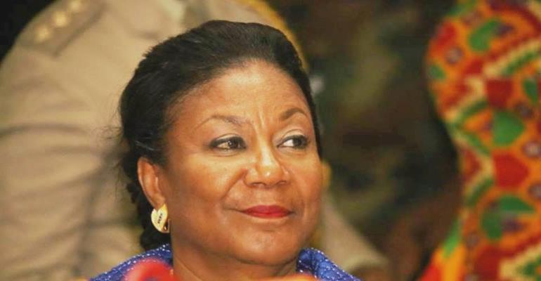 Meet Ghana's First Lady Her Excellency Rebecca Naa Akufo-Addo