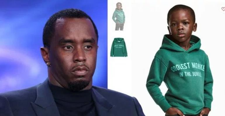 P Diddy 'To Offer H&M Child Model Million Dollar Modelling Contract'