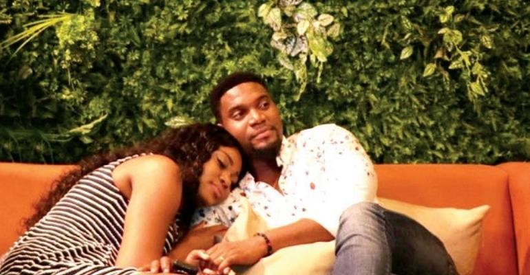 Yvonne Nelson and Kunle Remi