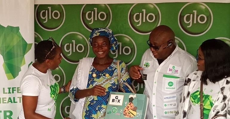 Glo, Africa Health Now, Support Expectant Mothers