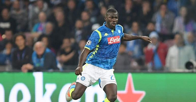 Manchester United could launch €100m January bid for Napoli defender Kalidou Koulibaly