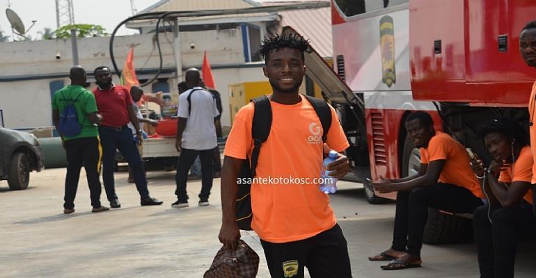 CAF CC: Asante Kotoko Leave Kumasi For Accra Ahead Of Cameroon Trip