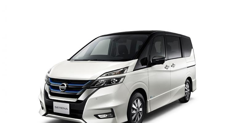 The Nissan Serena e-POWER Highway STAR V