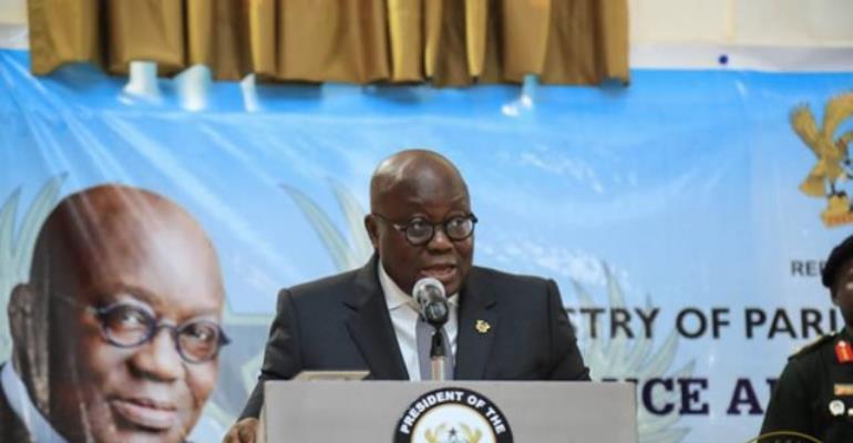 I don't respond to aspirants; I respond to presidential candidates – Akufo-Addo to NDC aspirants