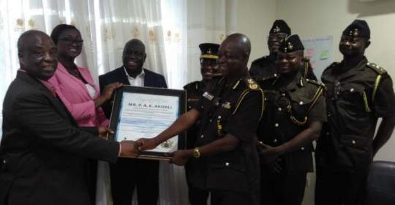 Ghana Prisons Service salutes GOIL