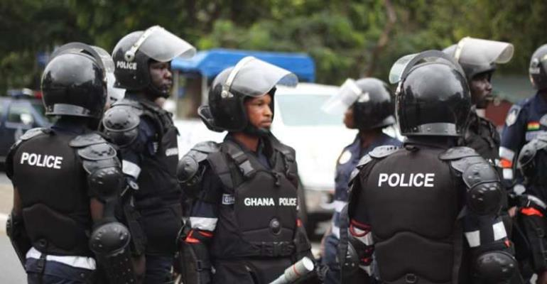 Police protect gov't offices in Tamale to avert vandalism