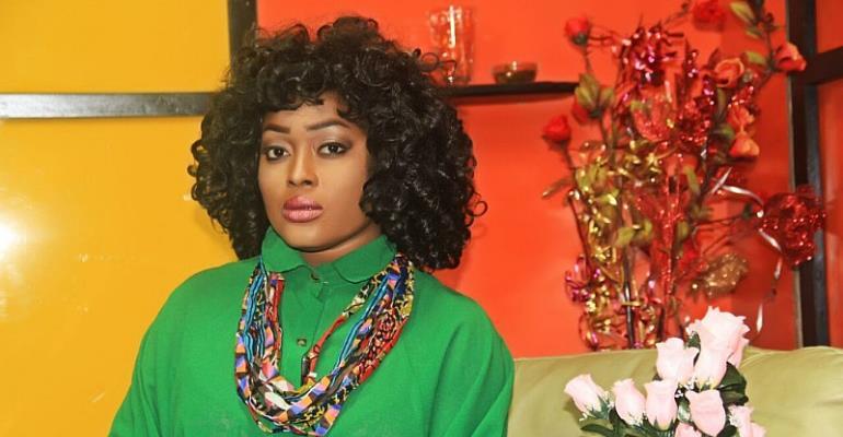 Actress Abena Ghana Congratulates Nana Akufo Addo