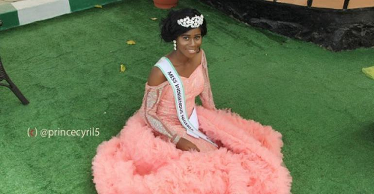 19years Old Orphan, Edomobi Chinasa Emerges Miss Indigenous Nigeria 2017