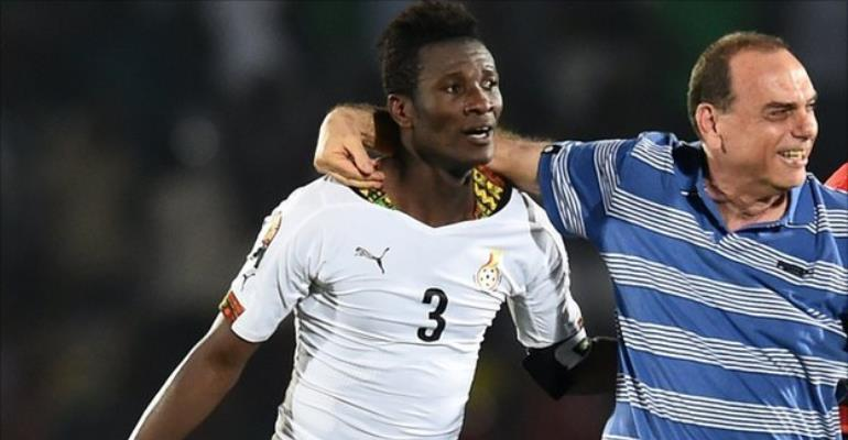 AFCON 2017: Asamoah Gyan's influence delights Avram Grant