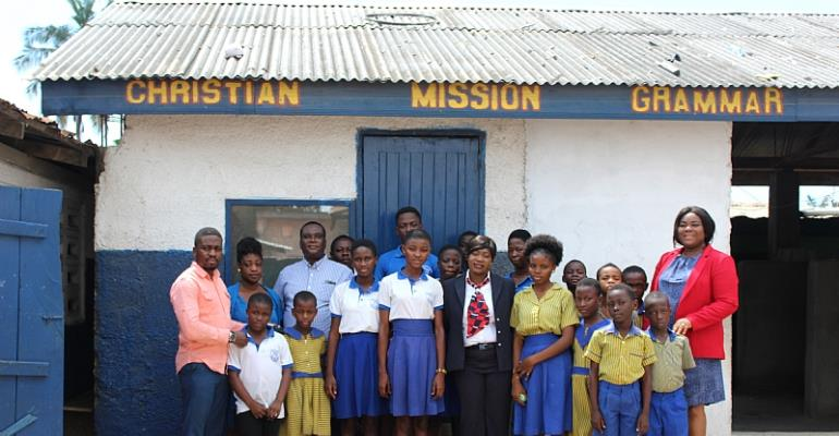 British Airways Support Christian Mission Grammar School With Computers