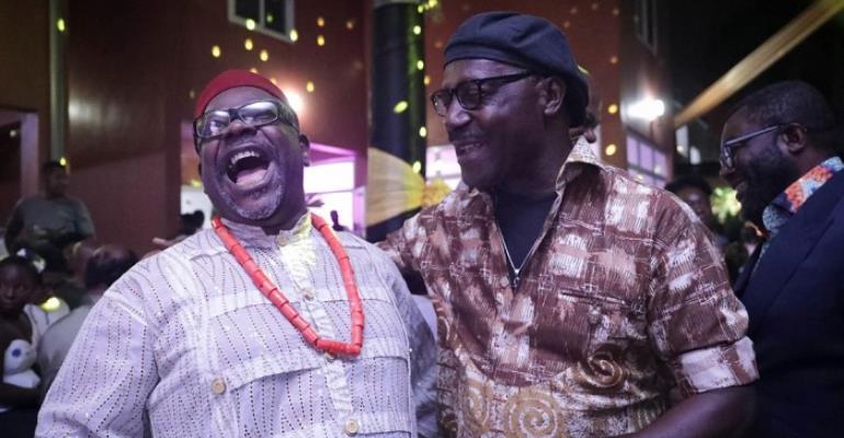 Kofi Amoakohene (left) and Gyedu Blay Ambolley