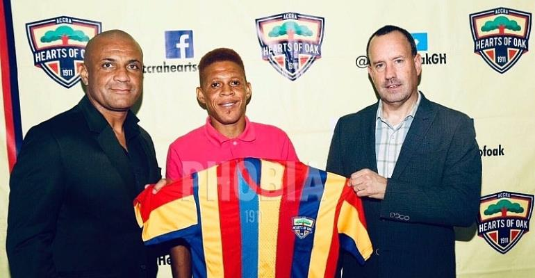 Hearts of Oak Signs Ibrahim Larry Sumaila