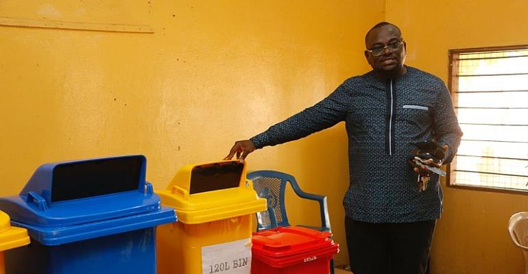 Ayawaso North Municipal Assembly Trains Staff To Distribute Waste Bins To Households