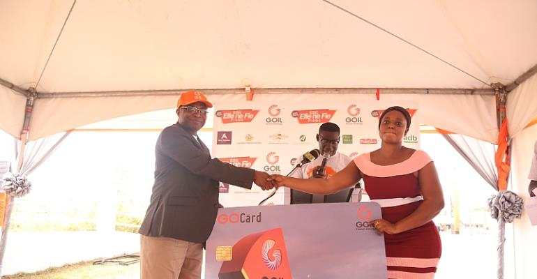 Goil Rewards 918,420 Customers with Cash, Prizes