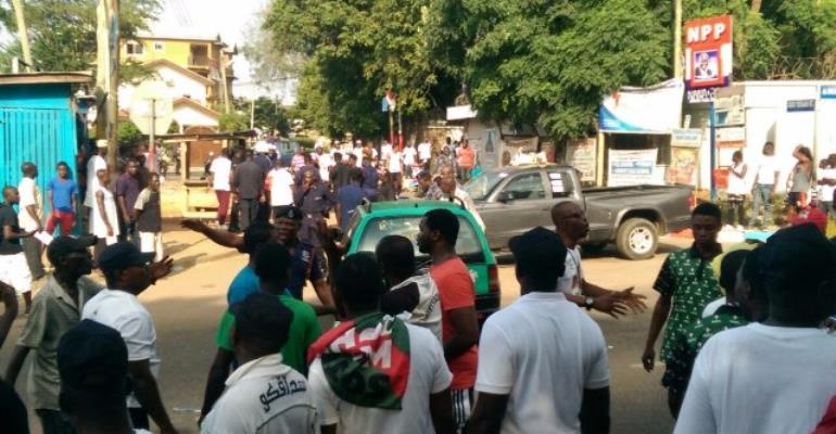 NPP condemns attack on home of Akufo-Addo