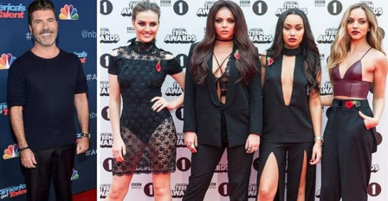 Simon Cowell Addresses Syco Split From Little Mix