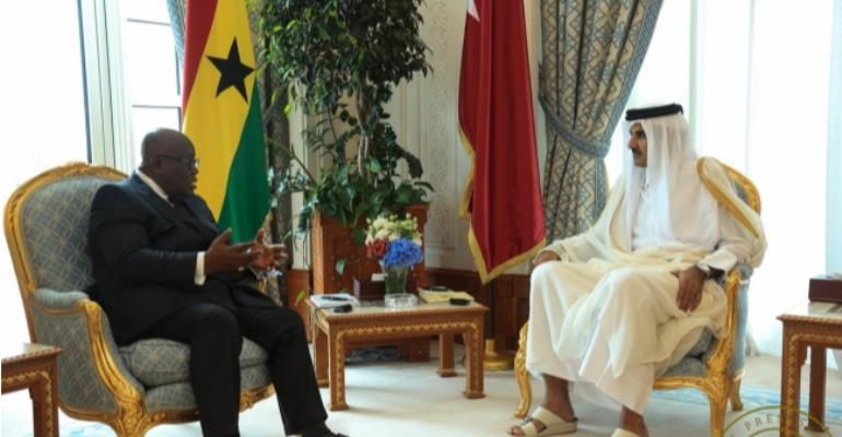 """""""You Are Governing Ghana Well"""" – Emir Of Qatar Commends Akufo-Addo"""