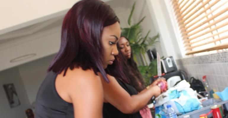Yvonne Nelson Injured During Birthday Celebration