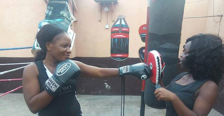 "Yarkor ""Chavez"" Annan Wants Government To Support Female Boxers"
