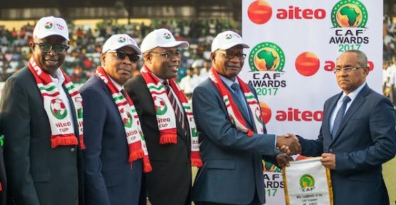 Aiteo-CAF Partnership: When Energy And Football Royalty Meet