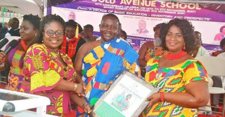 Gold Avenue School Celebrates 10-Years Of Basic Education