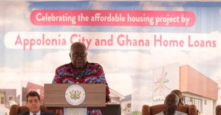 Kasoa: New Housing Project Unveiled At Appolonia City