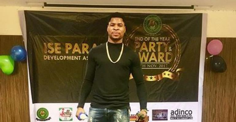 Actor, Abbey Abimbola Wins Best Artist of the Year 2017 in Malaysia