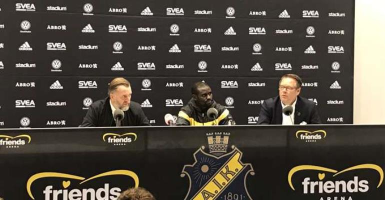 Enoch Adu Kofi Eyes January Move Away From Swedish Side AIK Stockholm