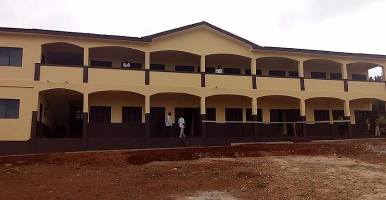 B/A: Sunyani MCE commissions school projects