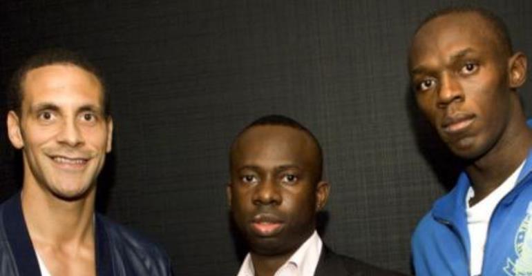 Super-Agent Chris Nathaniel In Ghana For Talent Hunt