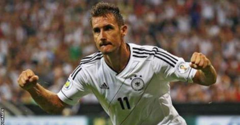 2010 World Cup Top Scorers : Klose fifa world cup all time top scorer retires from