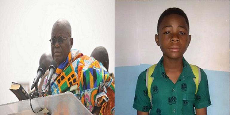 11 Year Old Student Pens Emotional Letter To President Nana Addo