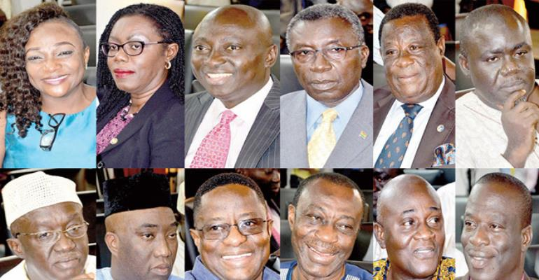 The new nominees for Ministerial Positions