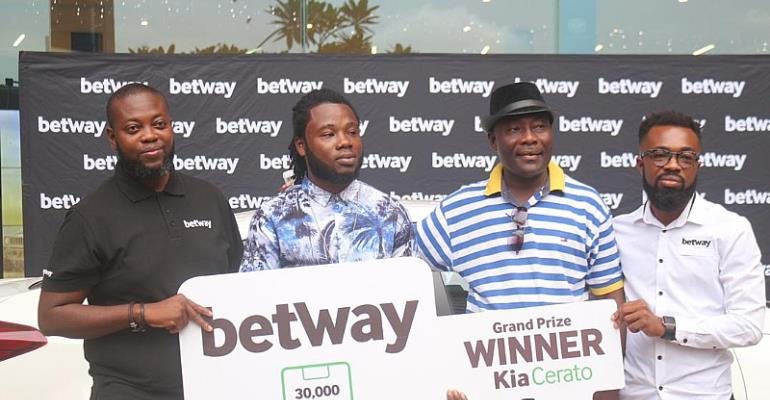 Betway Ghana Presents Brand New Kia Cerato To Promo Winner