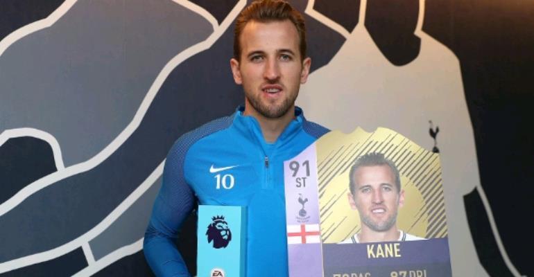 Kane, Defoe Win EPL December Best Player, Goal Awards