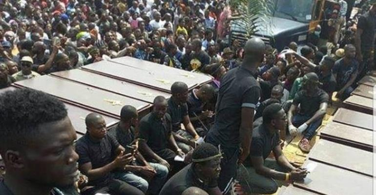 Benue Killing: Actress, Funke Adesiyan in Tears Over Benue Mass Burial
