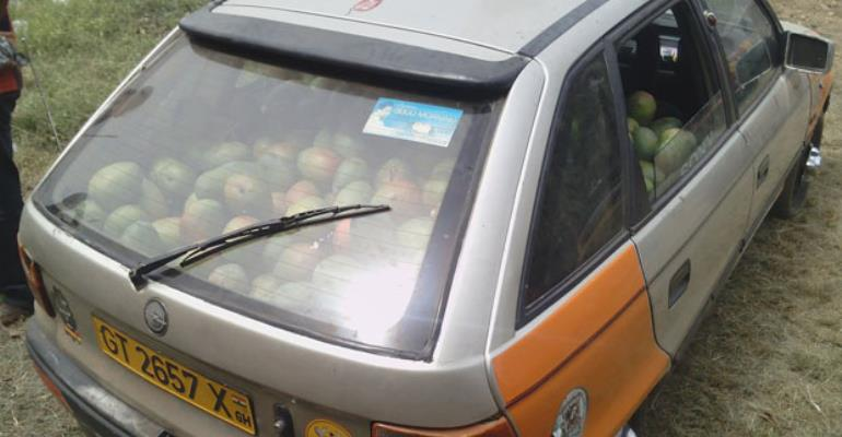 The Stolen Mangoes In The Taxi