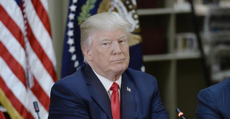 President Trump Of USA
