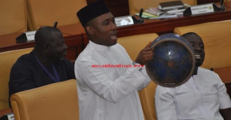 Gas Cylinder Scares Ghana Parliament