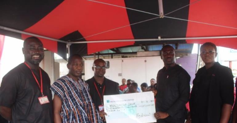 GLICO Presents GHC100,000 From KABA's Life Insurance