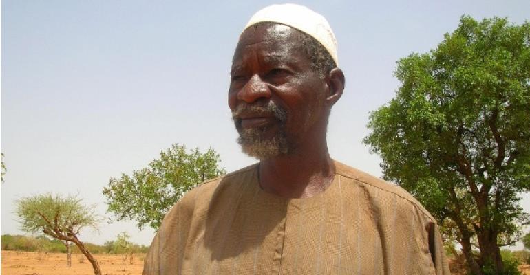 The Burkina Faso farmer Yacouba Sawadogo