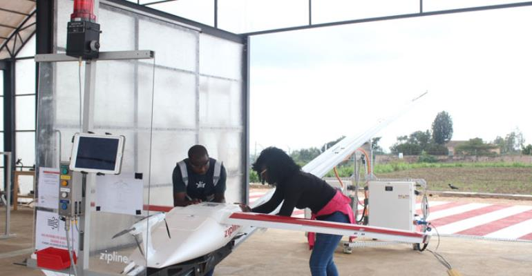 From Muhanga To The Rest Of Rwanda; How Zipline Is Providing Smarter Blood Distribution Service