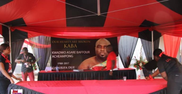KABA One Week Memorial: Who Came?