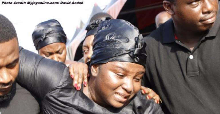 One Week Of KABA: A Widow's Pain In 10 Pictures