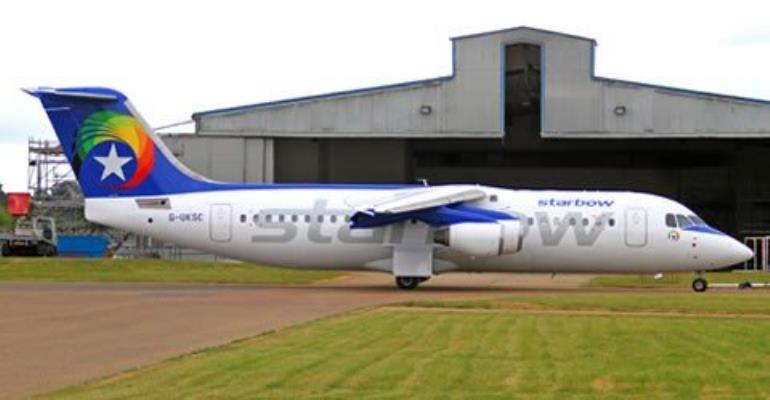 More Trouble For Starbow As Another Plane Skids Off Tarmac