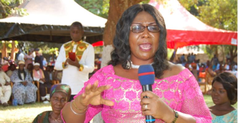 Her Honour Justice Lydia Osei-Marfo, Speaking At The Ceremony